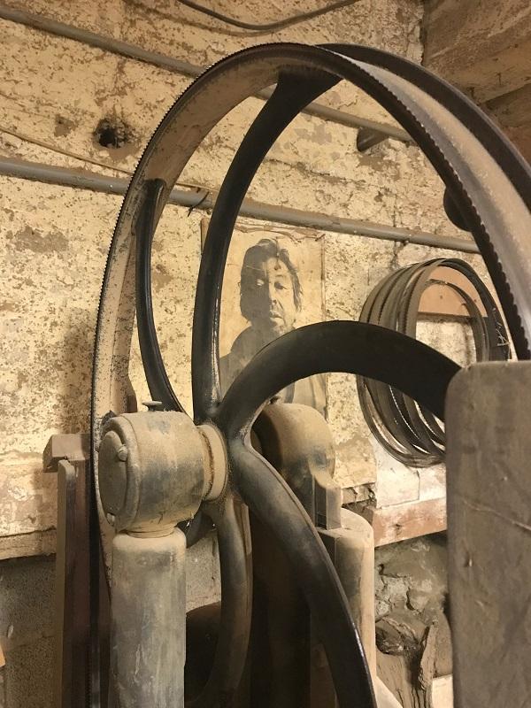 Atelier du sculpteur sur bois Pierre Rolland - machine