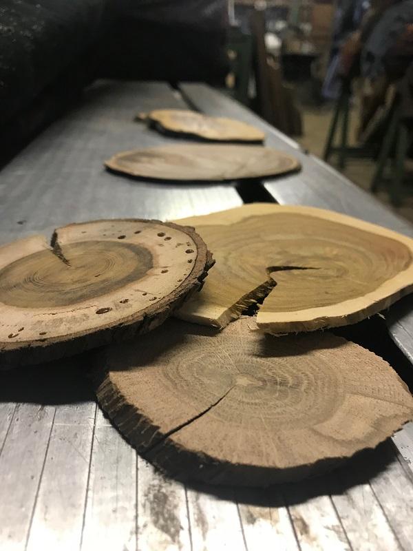Atelier du sculpteur sur bois Pierre Rolland